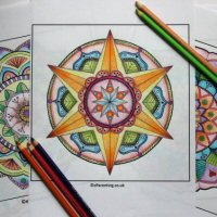 5 Beautiful Mandala Colouring Pictures - Free Printable Adult Colouring Pictures