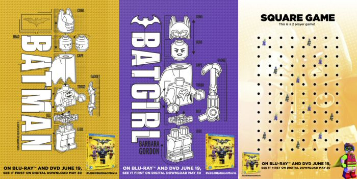 This is an image of Lego Batman Printable throughout template