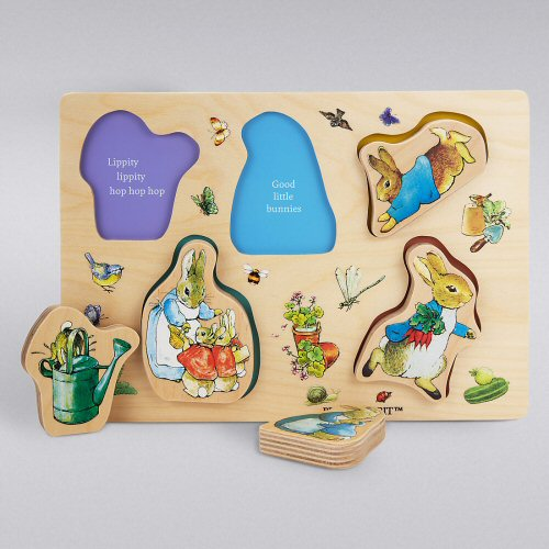 Chocolate free easter gift ideas for kids 2018 peter rabbit wooden puzzle negle Gallery