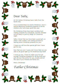 photo relating to Printable Christmas Letters referred to as Totally free Printable Individualized Dad Xmas Letters