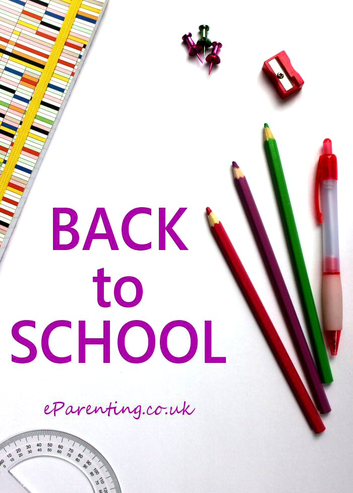Back to School - Everything you need to prepare for the new term.