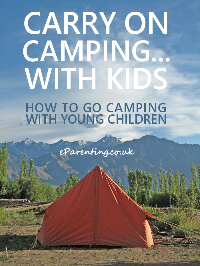 How To Go Camping With Young Children