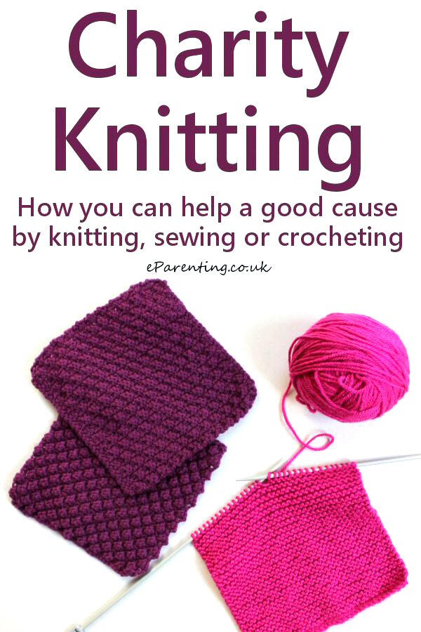 Knitting for Charity - How your knitting, sewing or crocheting could help a good cause