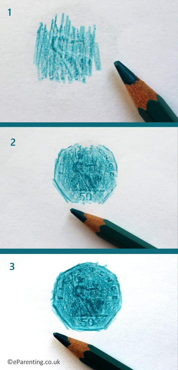 Coin Rubbing Art Ideas for Children