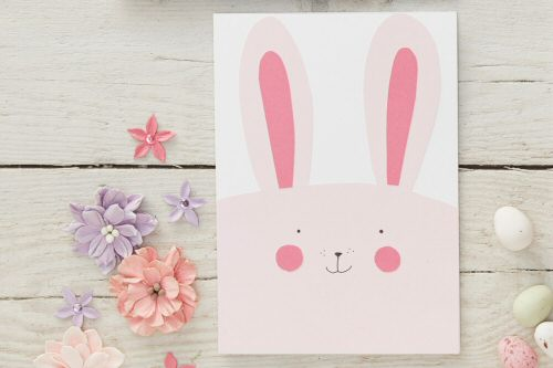 How to Make an Easy Bunny Card