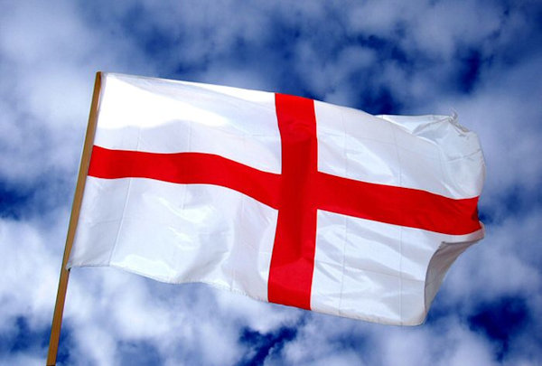 The flag of Saint George