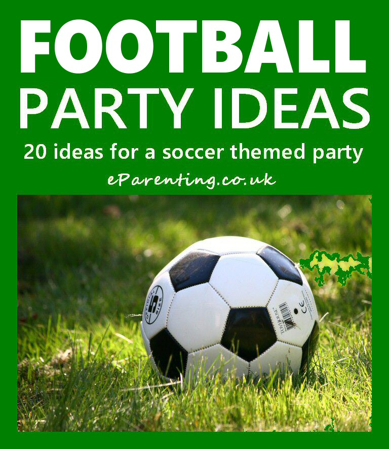 Soccer Football Party Ideas