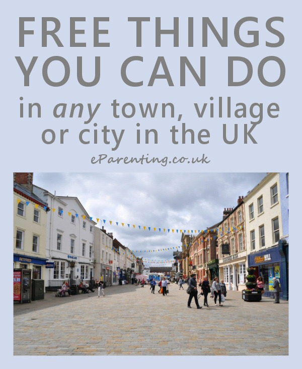 Free Things You Can Do In Any Town, Village or City in the UK