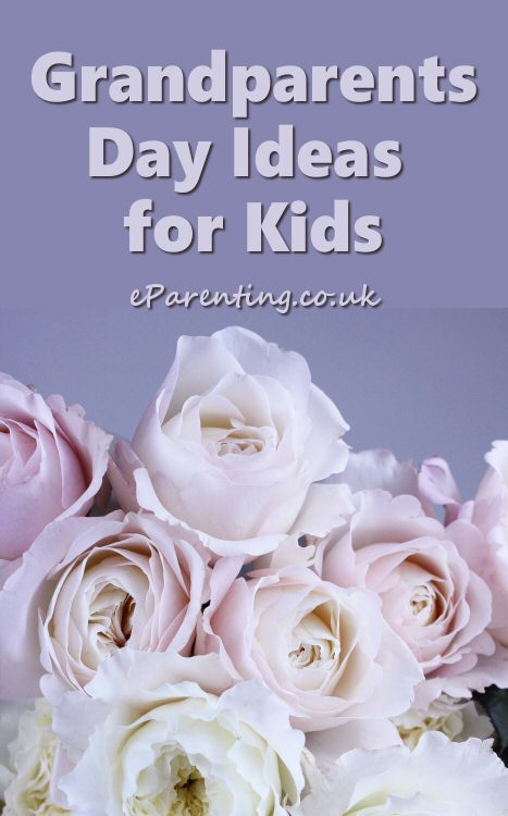 Crafts, activities, printables and gift ideas for Grandparents Day.