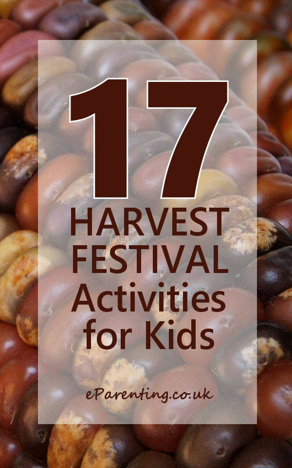 17 Harvest Festival Activities for Kids