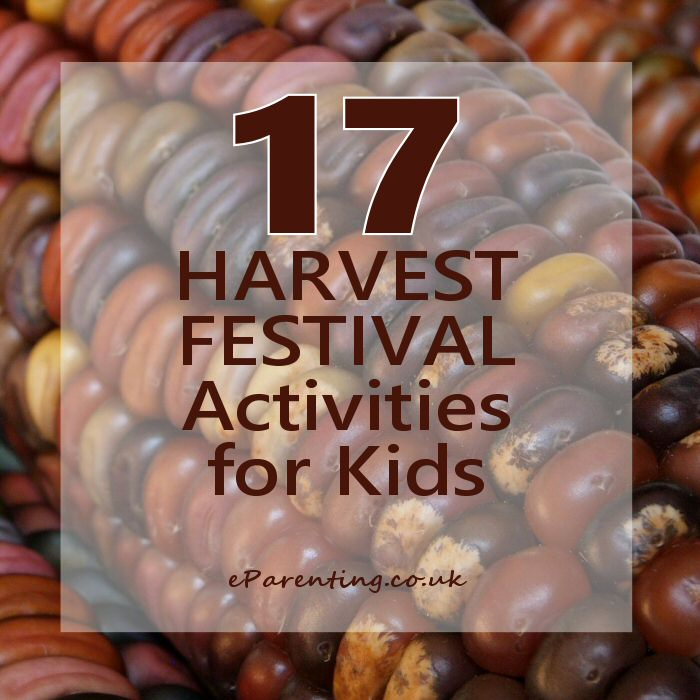 17 Harvest festival kids activities