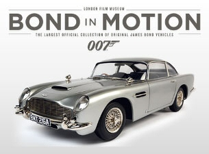Bond in Motion Exhibition Easter 2017