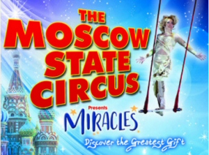 Moscow State Circus in Manchester for February half Term 2017