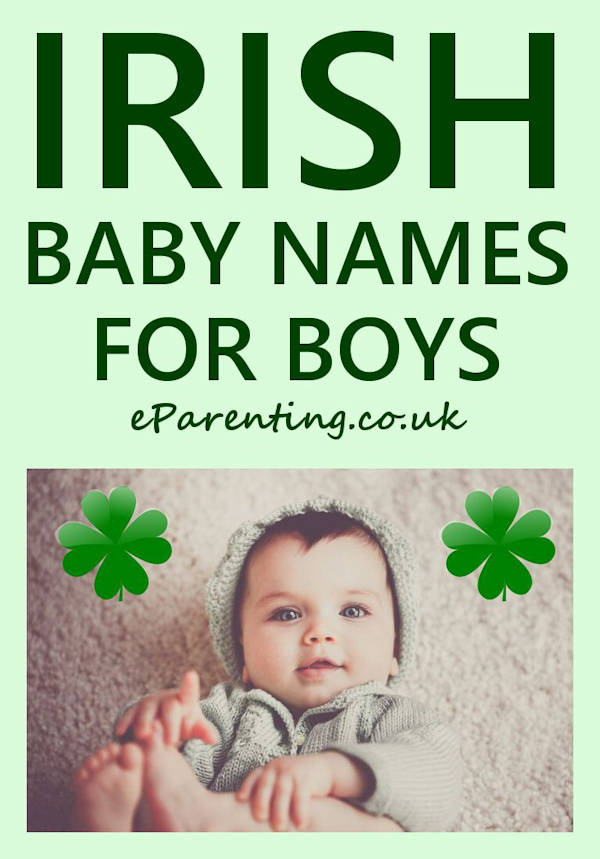 Irish Baby Names for Boys