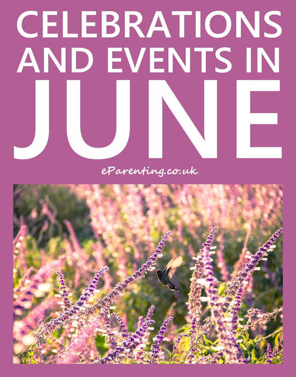 Celebrations Events & Special Days in June 2021