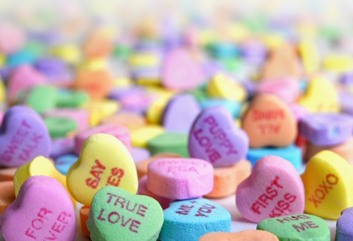 Candy and Chocolates are popular gifts for Valentine's Day