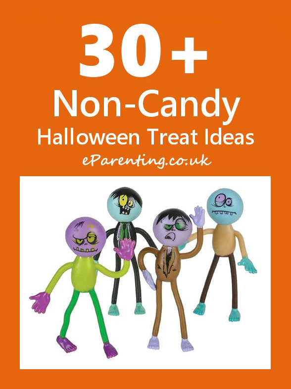 30+ Non Candy Halloween Treat Ideas