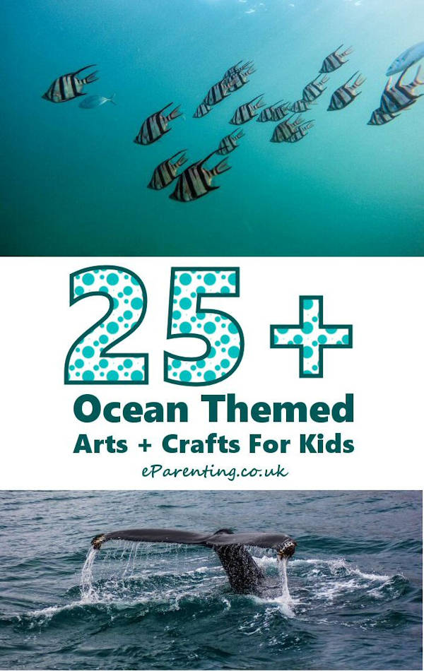 Ocean Themed Arts & Crafts for Kids