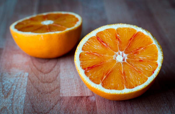 Oranges are the traditional half-time snack for a football match
