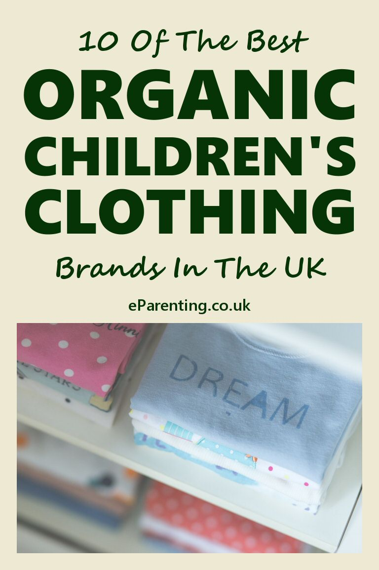 10 Of The Best Organic Children's Clothing Brands In The UK
