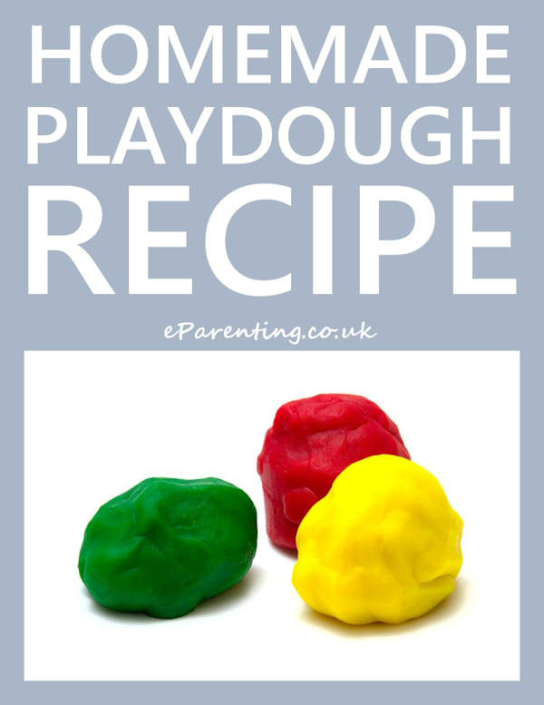 DIY Homemade Playdough Recipe