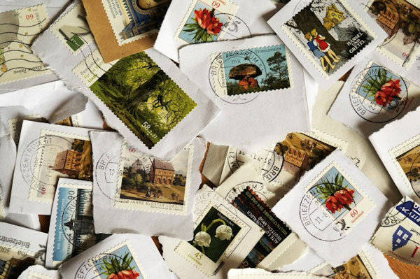 Recycled Postage Stamp Craft Project Ideas
