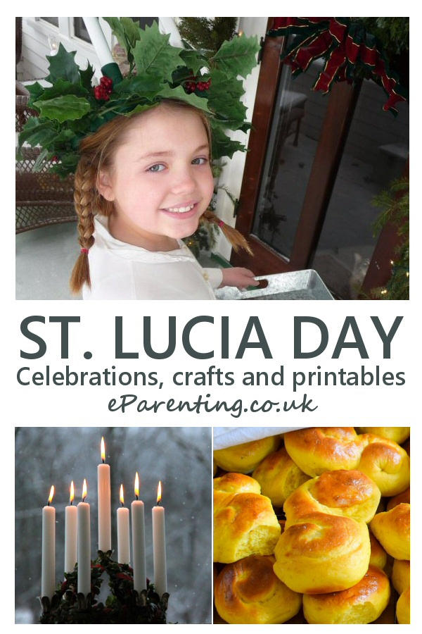 Celebrating Saint Lucia Day: crafts, printables and activities