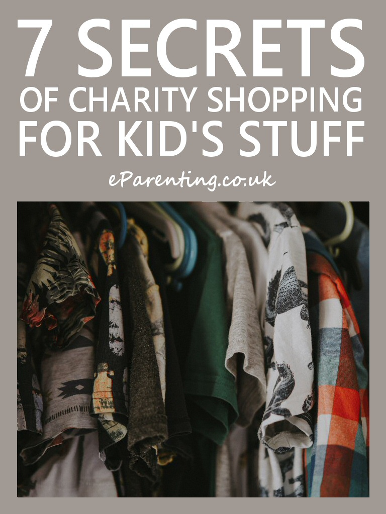 7 Secrets of Successful Charity Shopping for Kid's Stuff