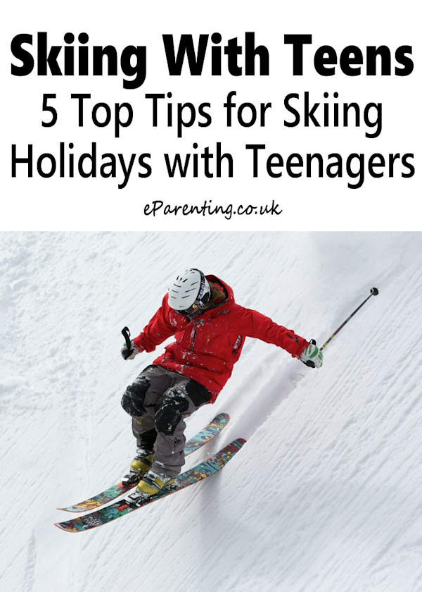 Skiing With Teens