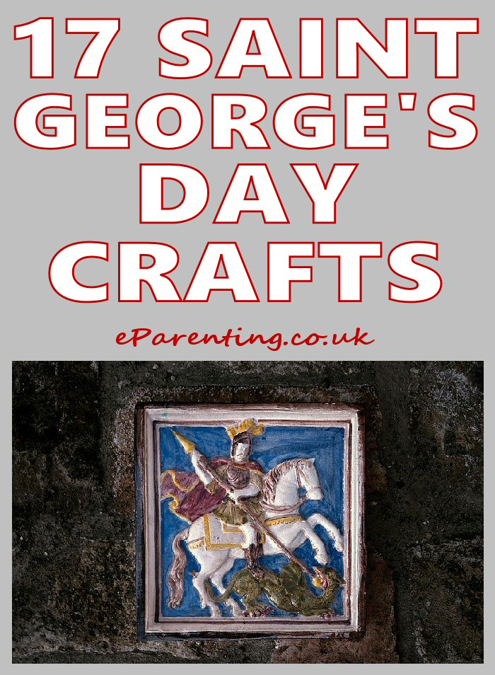 Saint George's Day Craft Activities For Kids