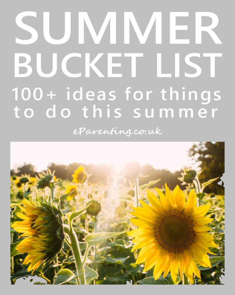 Summer Bucket List - 100+ Ideas For The Summer