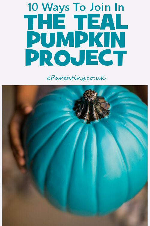 10 Ways to Join In The Teal Pumpkin Project