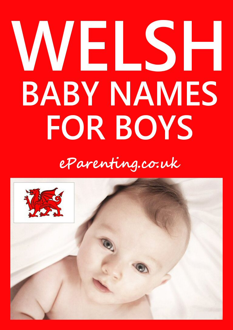 Welsh Baby Names for Boys