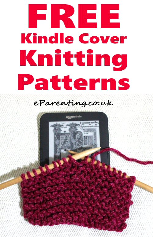 Free Kindle Cover Knitting Patterns