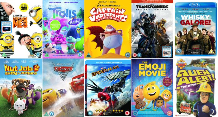 Kids New Dvd Releases November December 2017