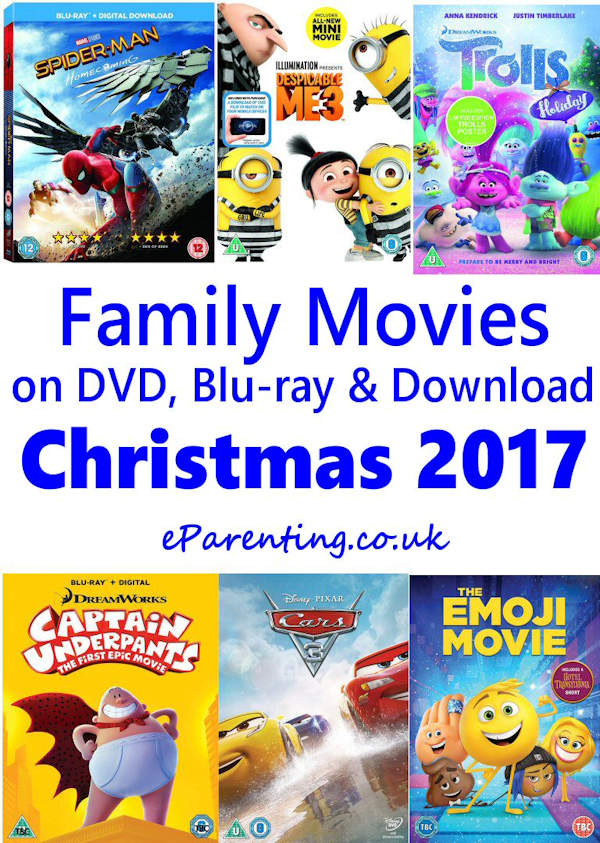 All Family Movies 2017 kids new dvd releases november - december 2017