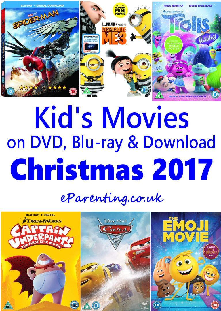 Kids New DVD Releases November - December 2017