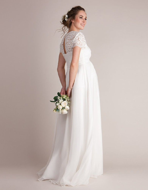 The 10 Most Beautiful Elegant Maternity Wedding Dresses For Pregnant Brides,Discount Wedding Dress Shops Uk