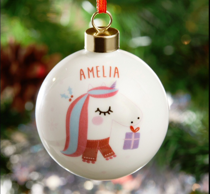 17 Personalised Christmas Ornaments With Names That You Will