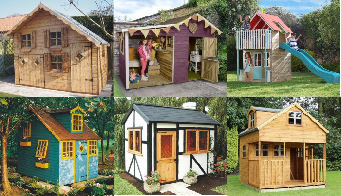 10 Gorgeous Outdoor Playhouses That You Will Wish You Could Move Into